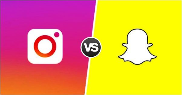 snapchat-vs- instagram