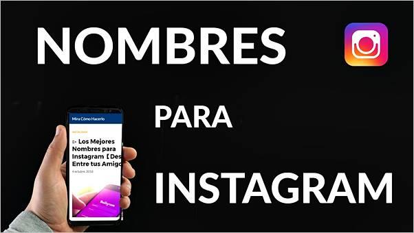 nombres-para-instagram
